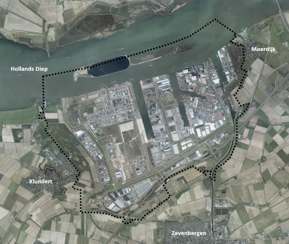 Zeehaven En Industrieterrein Moerdijk Toelichting
